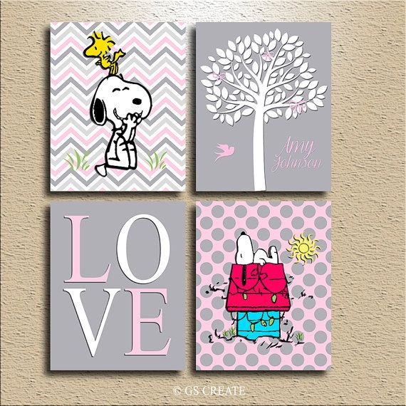 Hey, I found this really awesome Etsy listing at https://www.etsy.com/listing/235885625/baby-girl-gift-prints-boys-gifts-snoopy