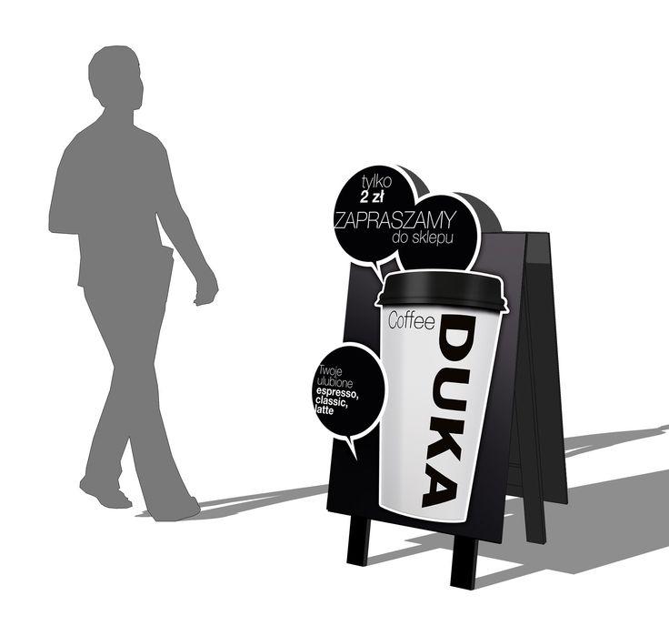 Potykacz w ramach projektu DUKA Coffee