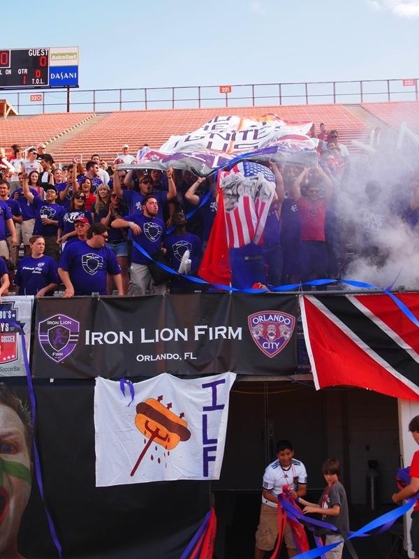 Orlando City Soccer Club vs Wilmington Hammerheads 4/15/12