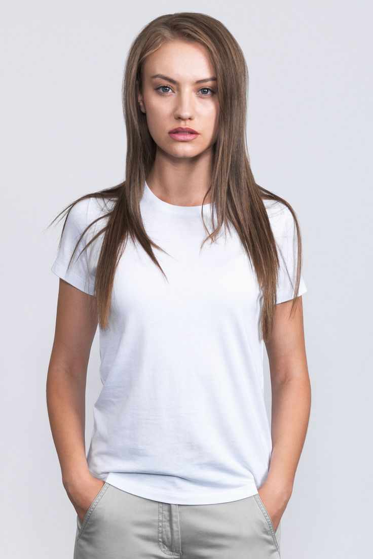 Bamboo Cotton Tee / From our Essentials range, a 'must-have' in everyone's wardrobe.