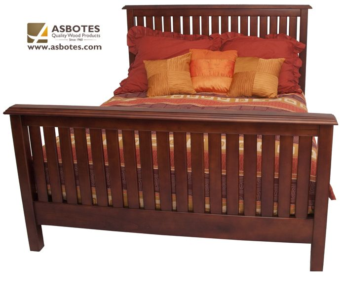 Timbali Bed (Exclude bedding & mattress) Available in various colours. For more details contact us on (021) 591-0737 or go to our website www.asbotes.com