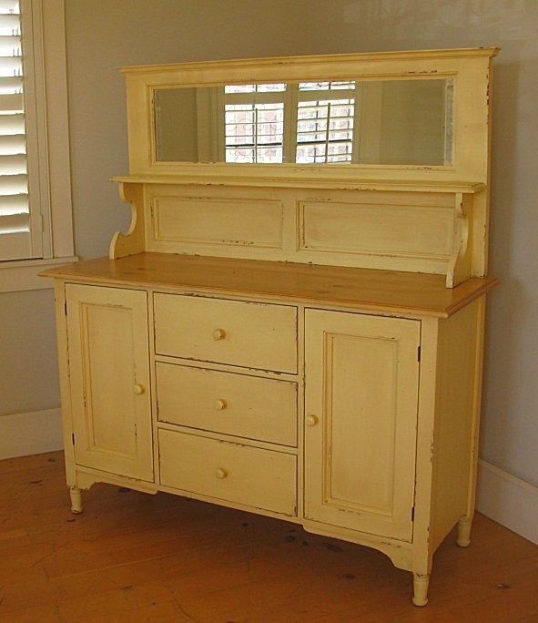 Hutch For Dining Room: Cottage Hutch, Painted Hutch