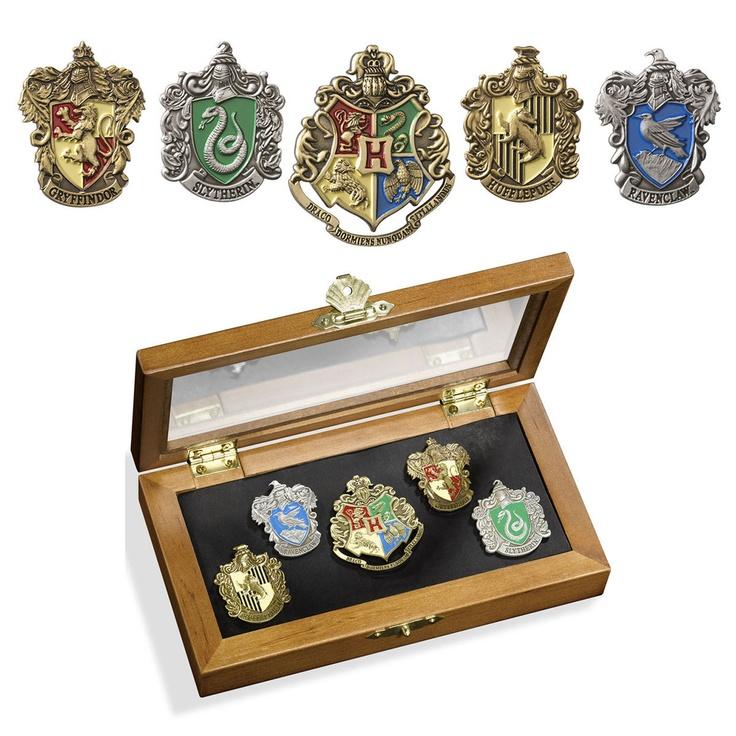 House Pins Set Of 5 – Harry #Potter #Fanart