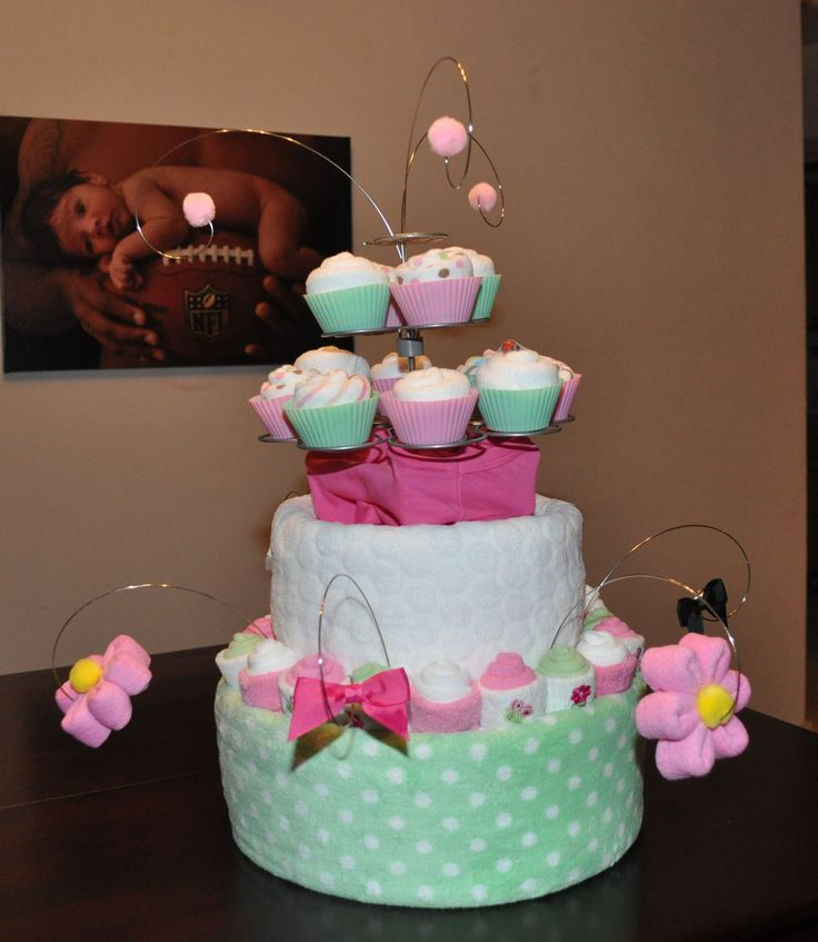 Diaper Cake Inspirations For Your Next Baby Shower. Enjoy The Gallery