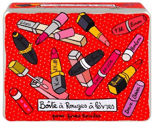 keladeco.com - #boite à rouge à #levres, idée deco salle de bain, boite à rouge à lèvres valérie nylin, boite derrière la porte - DLP