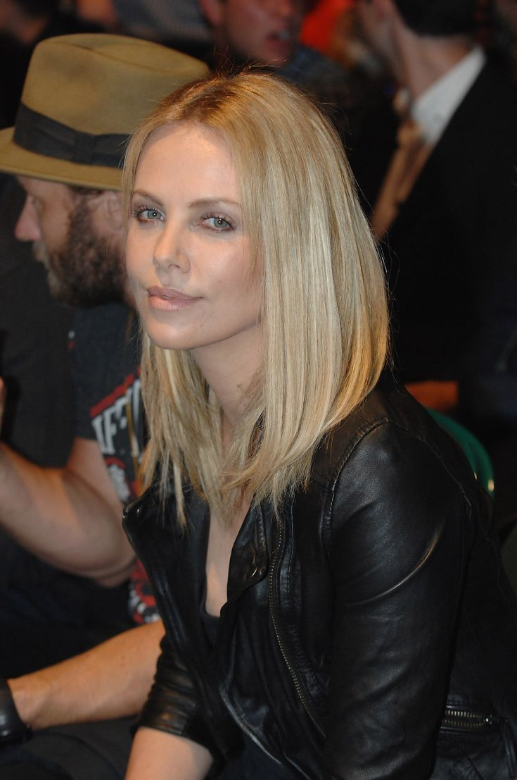 Charlize Theron in Lucina Biker.