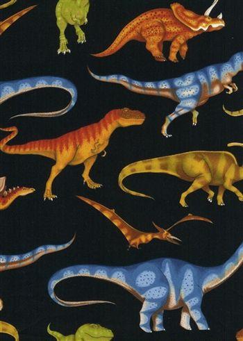 Dinosaur and Dinosaur Bones Bedding you can order at Artistic Sensations