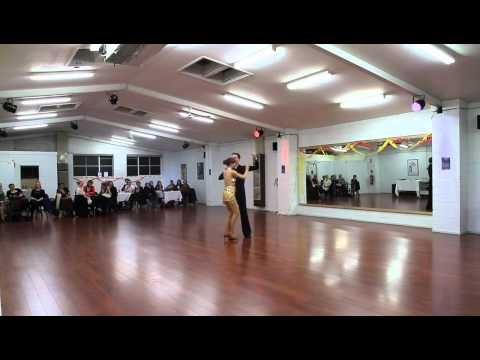 July 2012 - My first rumba, competing in the Showcase Challenge and dancing with teacher Tom Cavin at Phoenix Dance Studio. I didn't find out till after that I actually danced this and most of the rehearsals with a broken rib! Actual proof of what I always said, that illness and broken limbs will never keep me off the dance floor! :)