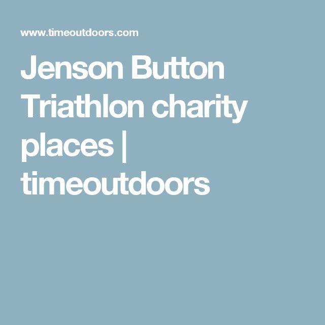 Jenson Button Triathlon charity places | timeoutdoors