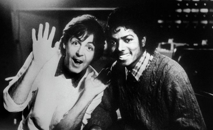 Beatles Michael Jackson Paul McCartney