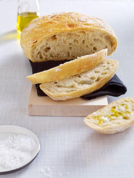 Brot selber backen - ganz ohne Kneten