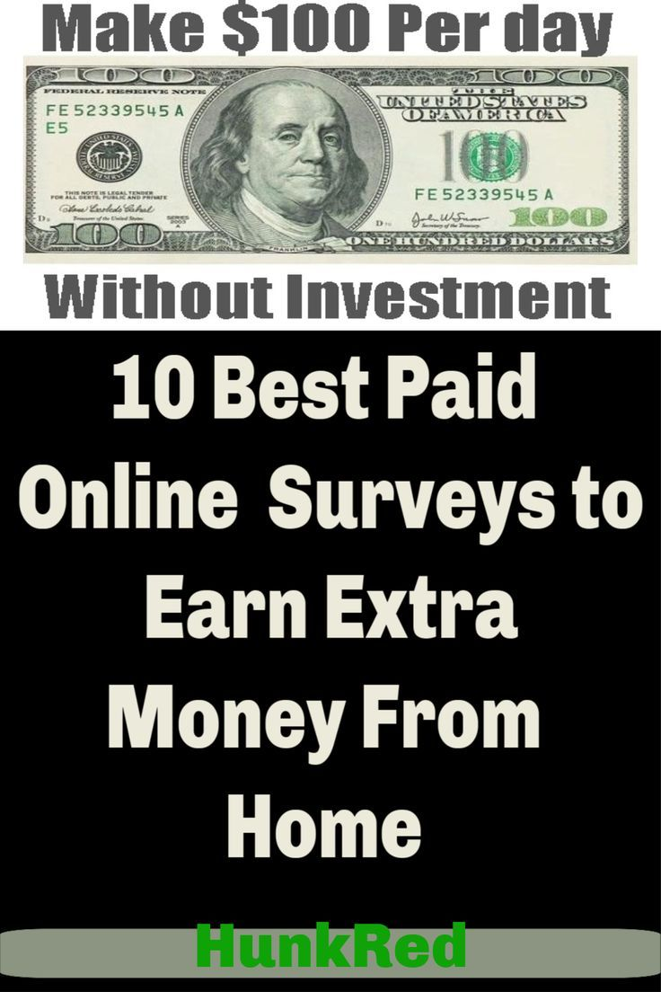 10 Best Paid Online Surveys to Earn Extra Money Fr…