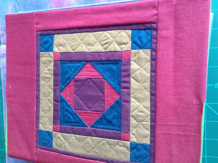 Amish miniature quilt