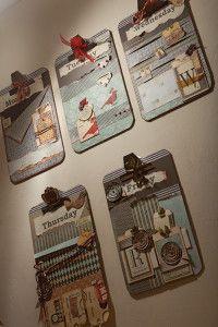 Creative Company | Scrap It: Creative clipboards