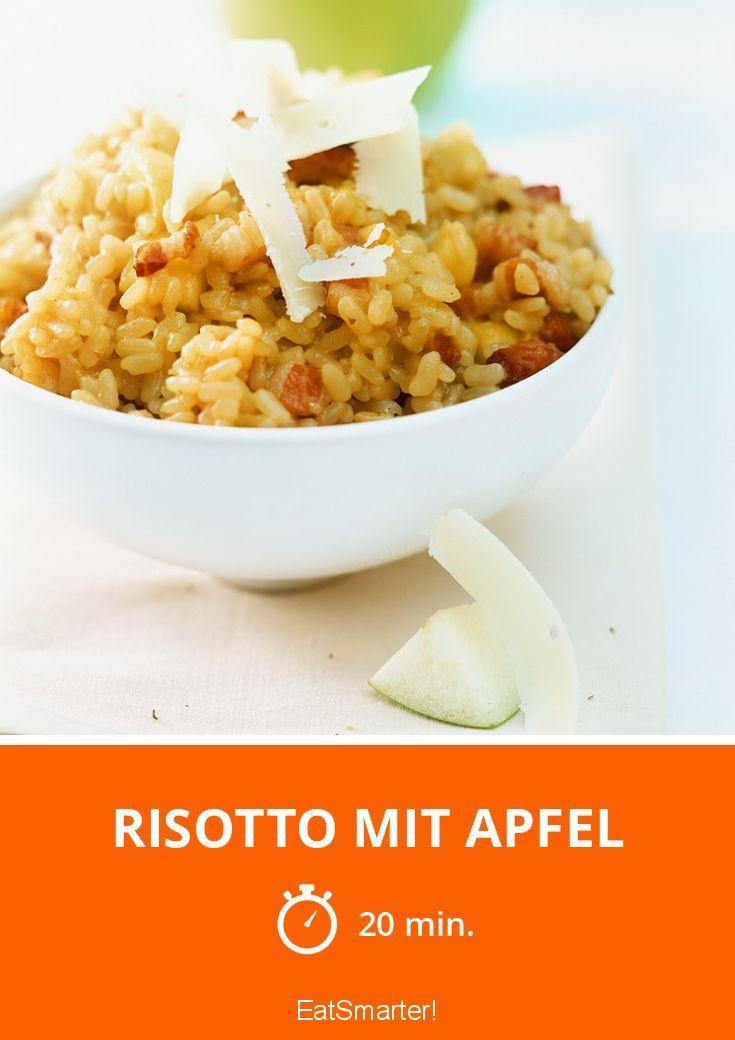 Risotto mit Apfel und Zimt | http://eatsmarter.de/rezepte/risotto-mit-apfel-0