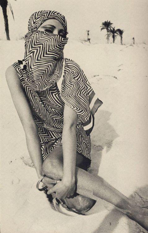 Helmut Newton // 1966 Jill Kennington, For Vogue UK April.