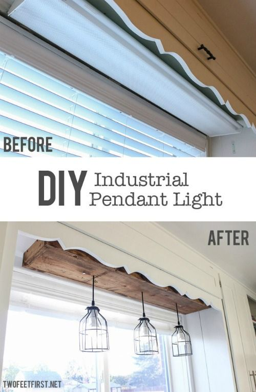 take a stab at this DIY Industrial Pendant Lights  and Inspire Your Joanna Gaines with DIY Fixer Upper Ideas on Frugal Coupon Living.