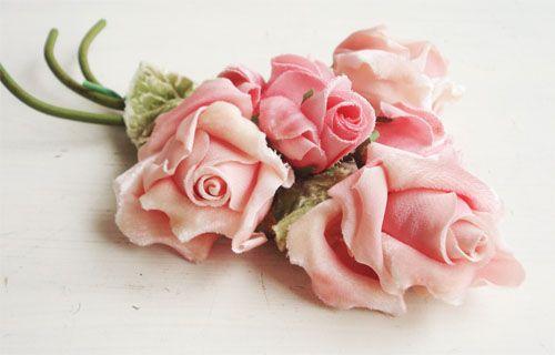 vintage millinery flowers #millinery #judithm #flower