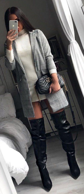18++ Black leather high heel boots ideas ideas