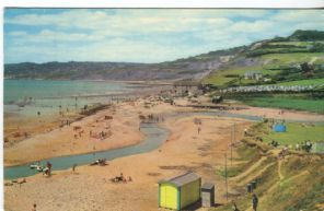 Unknown Postcard,  Charmouth, looking towards Lyme Regis, PT2219