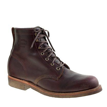 Original Chippewa® for J.Crew plain-toe boots - Chippewa - Men's j.crew in good company - J.Crew