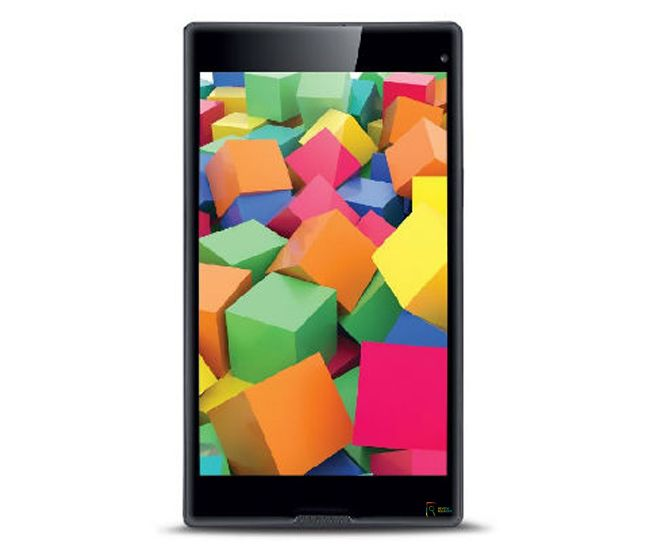 IBall Slide Cuboid is an 8-inch display tablet and powered by a quad-core processor. It also supports multi-language. An 8MP primary camera is also available.