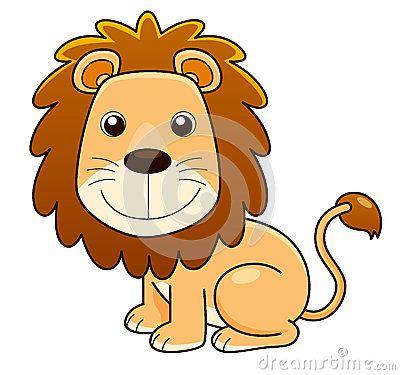 Шарж льва