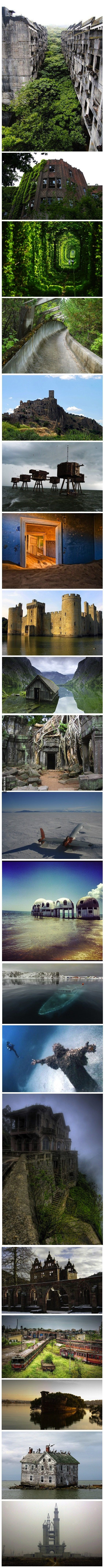 The 20 most awesome abandoned places in the world