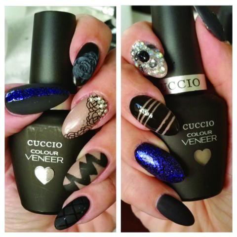 Гель-лаки Cuccio Veneer. Создавайте свои неповторимые дизайны ногтей с ними!