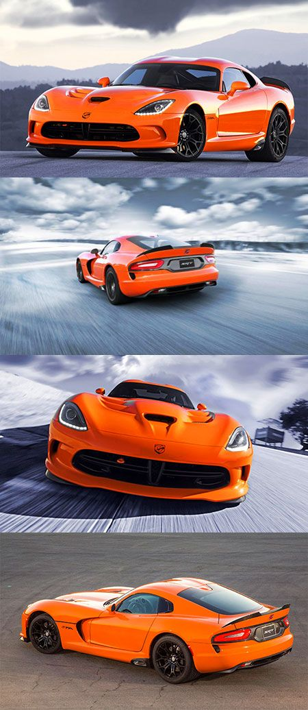 SRT Viper TA Officially Unveiled, Packs 640HP V10 Engine - TechEBlog