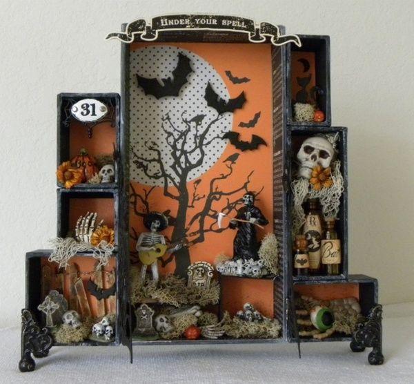 cute halloween - Halloween Diorama Ideas