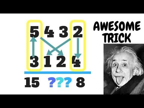 Fast Math Tricks - multiplication of two and three digit numbers. - YouTube