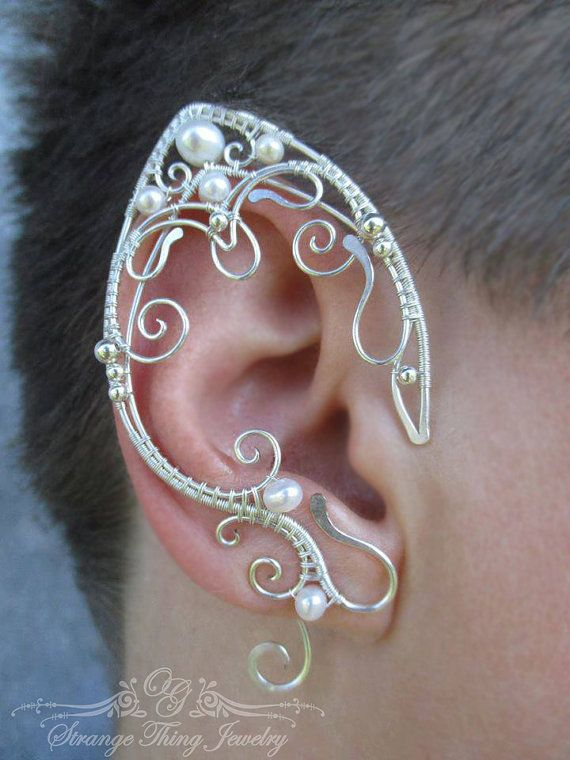 17 Best Images About Earrings Elf And Fantasy Ears And