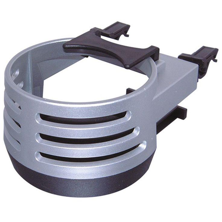 Carpoint Blikhouder aluminiumlook  Description: Aliminiumlook. Klembevestiging op het ventilatierooster. Geschikt voor de meeste flessen/blikjes van 025/033 en 05 liters.  Price: 9.99  Meer informatie