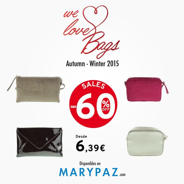 MARYPAZ ❤️ BAGS AHORA desde 6,39€ ‼️‼️ Consigue tu bolso perfecto AHORA con las REBAJAS con hasta el 60% dto. en muchos de nuestros artículos en TIENDA y ONLINEwww.marypaz.com   ¡ Un bolso diferente para cada día!   #rebajasmarypaz #shoponline #rbajas #upto60   Encuentra tu BOLSO en aquí: http://www.marypaz.com/tienda-online/botin-de-tacon-y-plataforma-con-cordones-53172.html?sku=73031-35
