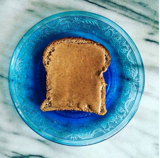 Whole Grain Toast With Nut Butter | 11 Nutritionist-Approved Late Night Snacks