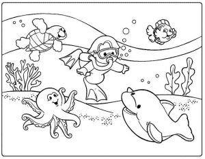15 Pemandangan Bawah Laut Hitam Putih Gambar Pemandangan Hitam Putih Untuk Diwarnai Anak Anak Download Pemandangan Bawa Di 2020 Buku Mewarnai Gambar Grafit Kartun
