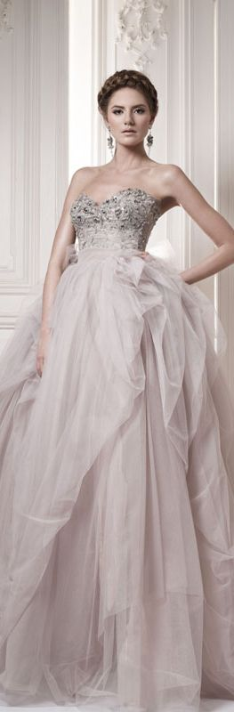 Pale Pink Ersa Wedding Atelier 2013