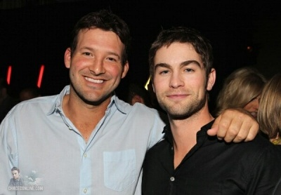 Chace Crawford & brother-in-law Tony Romo
