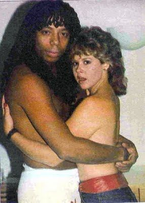 Linda Blair & Rick James, 1982