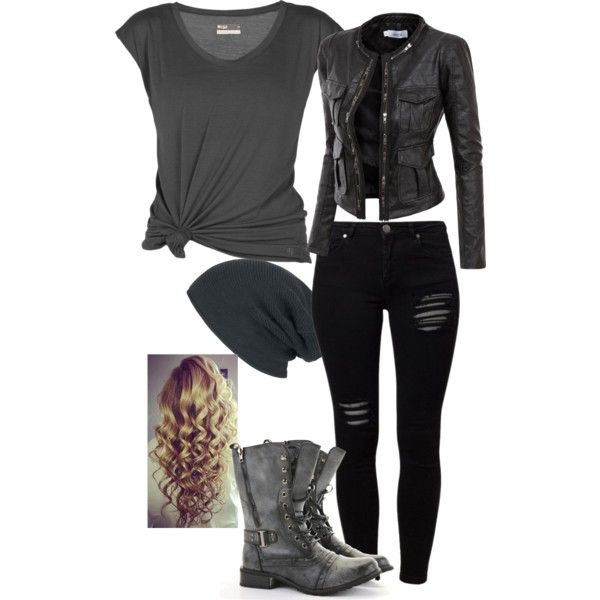 """Rebel cute"" by mbpritchard on Polyvore"
