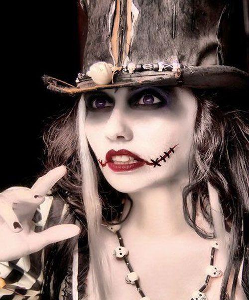 Halloween Voodoo Doll Makeup Ideas | Halloween2014 | Pinterest