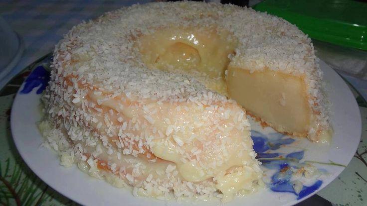 Receita de bolo de leite de coco (de BOLO PEGA MARIDO)