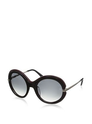 66% OFF Nina Ricci Women's NR3720 Sunglasses, Black/Burgundy