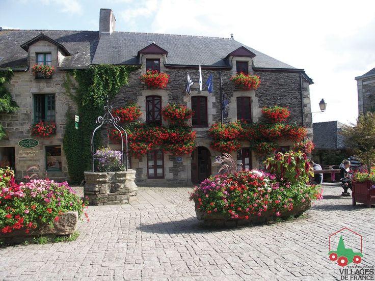 Rochefort-en-Terre, magnifique petit village fleuri