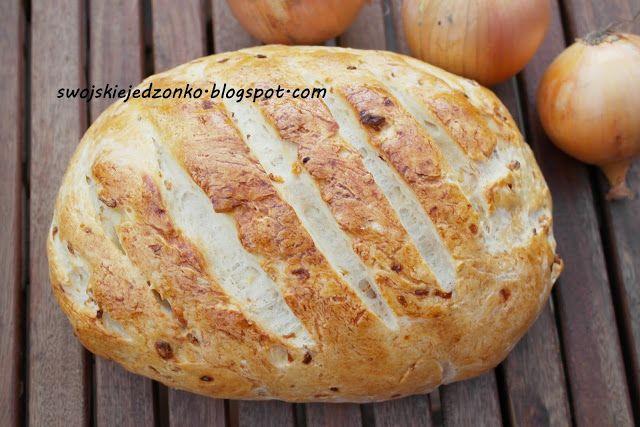 Swojskie jedzonko: Chlebek cebulowy-pyszny i pachnący