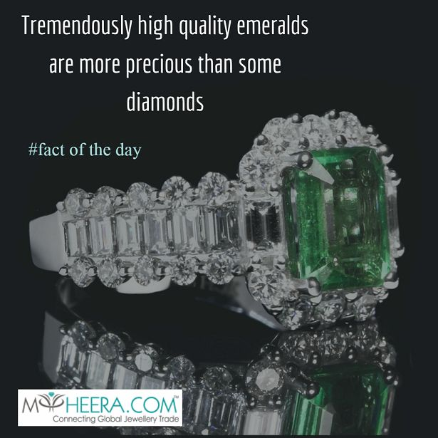 DID YOU KNOW?? #emerald #diamond #facts #startups