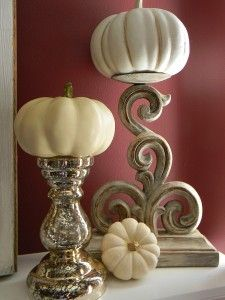 Thanksgiving Mantel - Organize and Decorate Everything