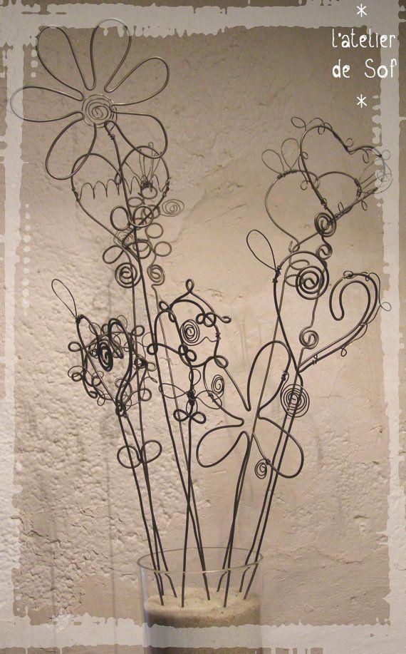 Bouquet de fleurs intemporel par latelierdesof sur Etsy