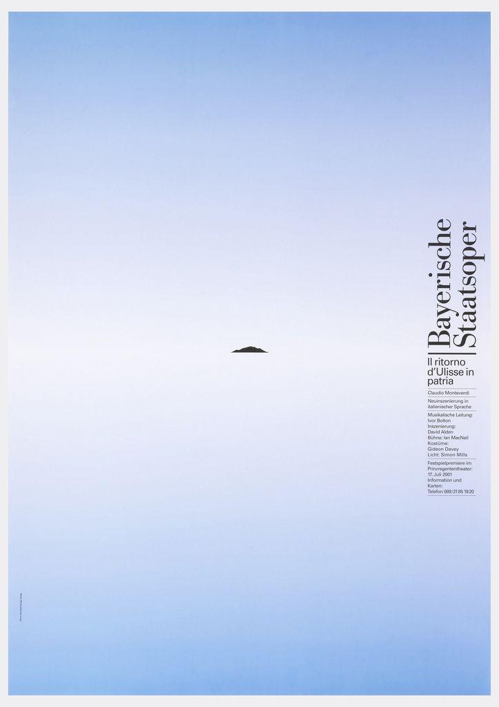 Poster, Bayerisch Staatsoper, Siegfried, Richard Wagner, 2001